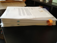 The manuscript!