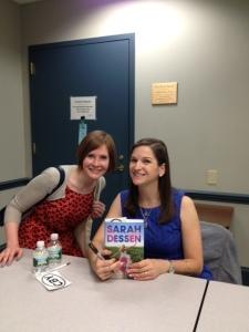 Sarah Dessen and me!