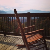 Actual view from the TN retreat.