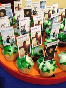 Our very own book cupcakes!