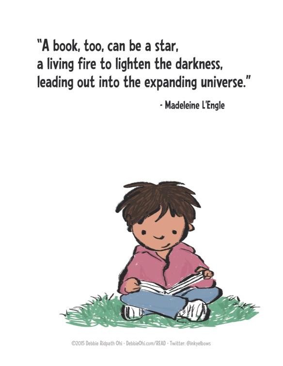 Quote-MadeleineLEngle-Bookstar